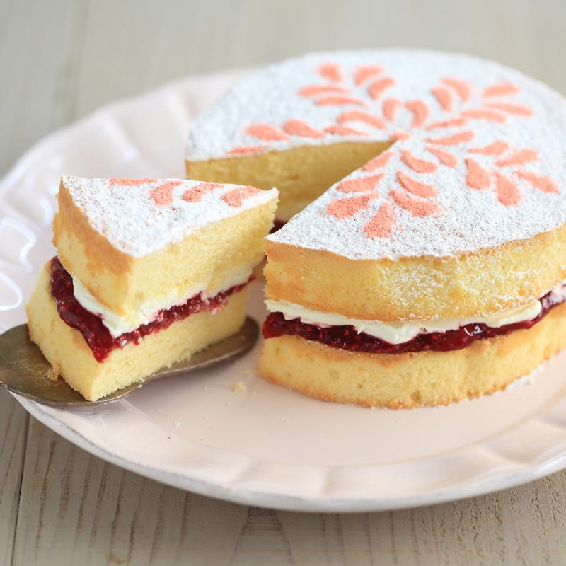 ビクトリアサンドイッチケーキの画像