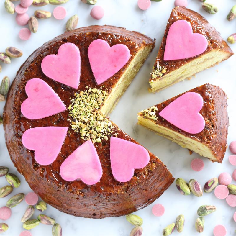 ピスタチオケーキの画像